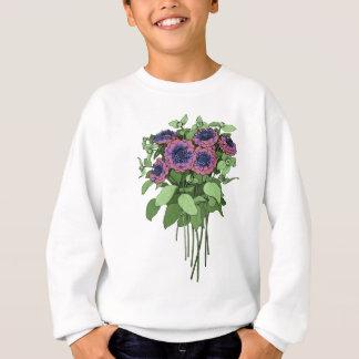 紫色のAnenomes スウェットシャツ