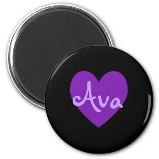 紫色のAva マグネット