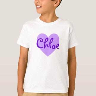 紫色のChloe Tシャツ