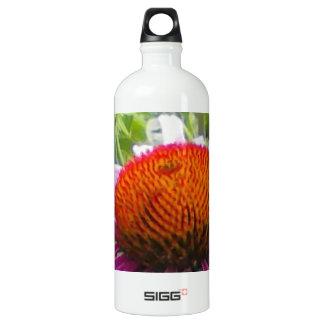 紫色のConeflower ウォーターボトル