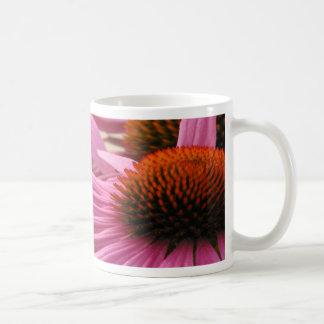 紫色のConeflower コーヒーマグカップ