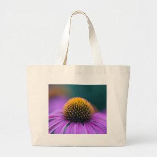 紫色のconeflower (Echinaceaのpurpurea) ラージトートバッグ