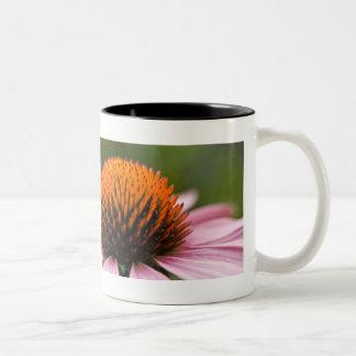 紫色のConeflower | Sonnenhut ツートーンマグカップ