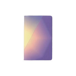 紫色のGoldenrodスターバスト ポケットMoleskineノートブック