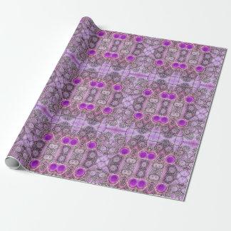 紫色のHamsa 包み紙