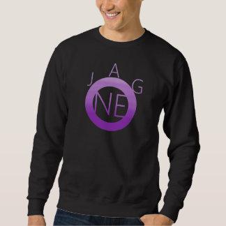 紫色のJagoneの円のスエットシャツ スウェットシャツ