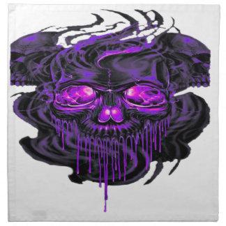 紫色のNerpulの骨組PNG ナプキンクロス