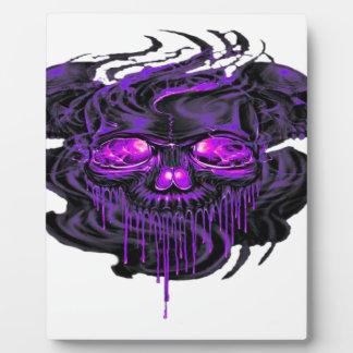 紫色のNerpulの骨組PNG フォトプラーク