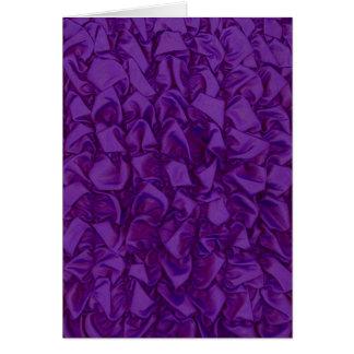 紫色のNotecard カード