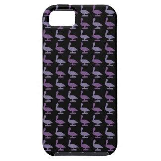 紫色のpelicanes iPhone SE/5/5s ケース