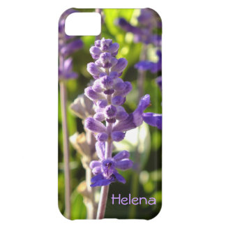 紫色のSalviaの花のiPhone 5の箱 iPhone5Cケース