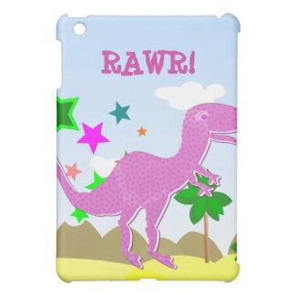 紫色のTレックスのiPadの箱 iPad Mini カバー