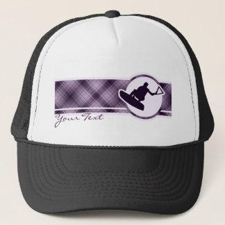 紫色のWakeboarder キャップ