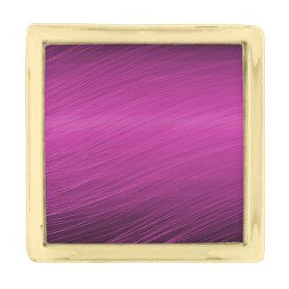 紫色のWhisps 金色 ラペルピン