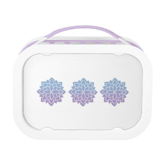 紫色のyuboのお弁当箱 ランチボックス