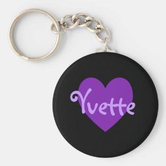 紫色のYvette キーホルダー