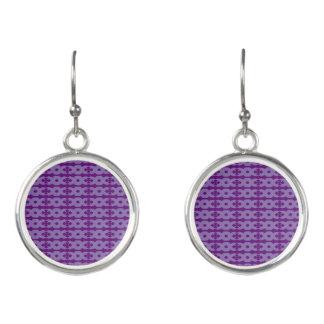紫色はイヤリングを振ります イヤリング