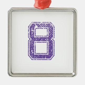 紫色はJerzee数08.pngを遊ばします メタルオーナメント