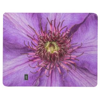 紫色クレマチスの花 ポケットジャーナル