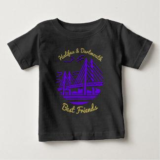 紫色ノバスコシアハリファックスダートマスの親友 ベビーTシャツ