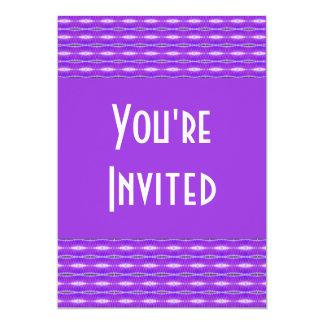 紫色パターンパーティー カード