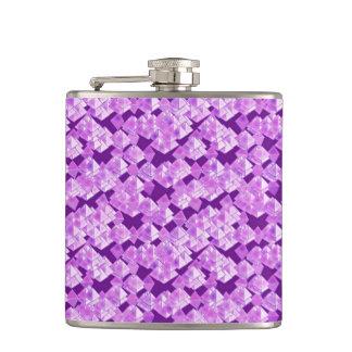 紫色ピラミッドの水晶 フラスク