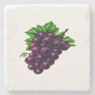 紫色ブドウ酒用ブドウ ストーンコースター