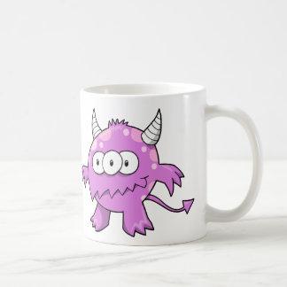 紫色モンスターのマグ コーヒーマグカップ