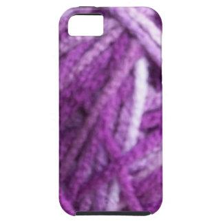 紫色ヤーン iPhone 5 Case-Mate ケース