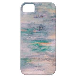 紫色ユリ iPhone SE/5/5s ケース