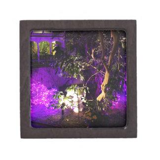 紫色ライト ギフトボックス