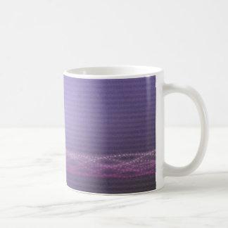 紫色ライト コーヒーマグカップ