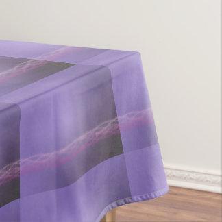 紫色ライト テーブルクロス