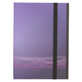 紫色ライト iPad AIRケース