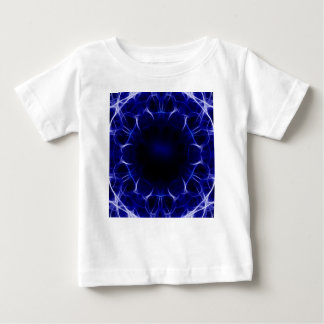 紫色レーザーパターン ベビーTシャツ