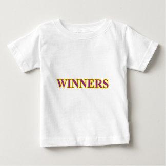 紫色勝者 ベビーTシャツ