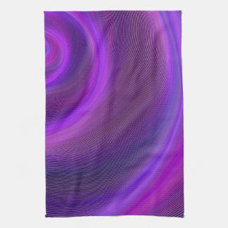 紫色夜嵐 キッチンタオル