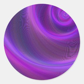 紫色夜嵐 ラウンドシール