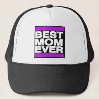 紫色最も最高のなお母さん キャップ