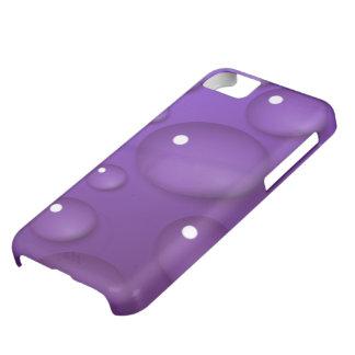 紫色水低下パターン iPhone5Cケース