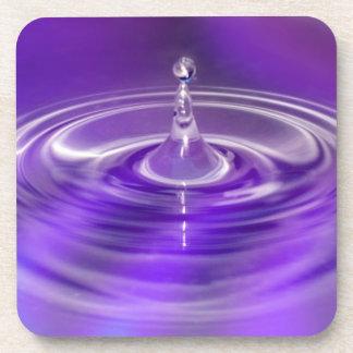 紫色水低下 コースター