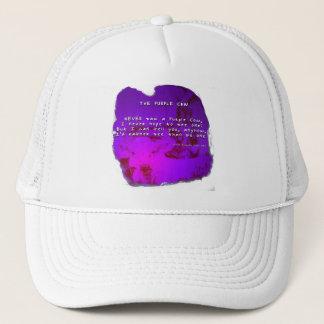 紫色牛 キャップ