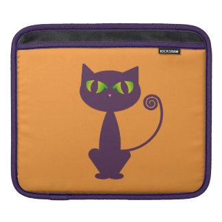 紫色猫 iPadスリーブ
