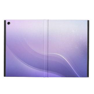 紫色色の抽象的な背景 iPad AIRケース