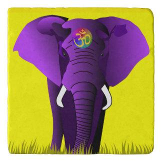 紫色象のtrivet トリベット
