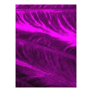 紫色象耳の粗かった一見 カード