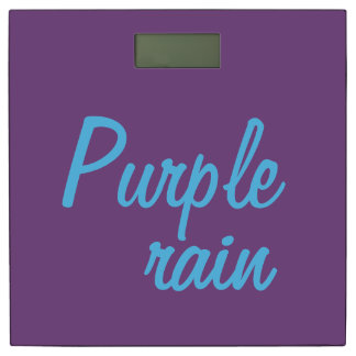 紫色雨スケール 体重計