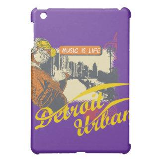 紫色音楽は都市生命デトロイトです iPad MINIケース