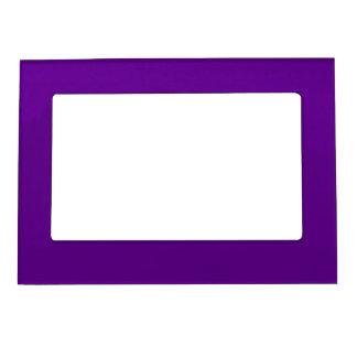 紫色5x7磁気フレーム マグネットフレーム