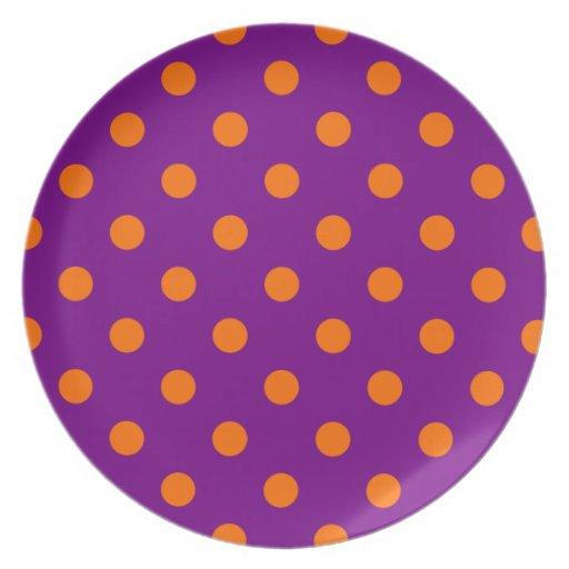 紫色|オレンジ|ポーク点